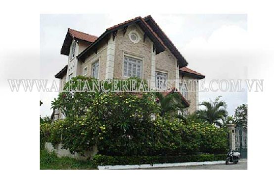Villa in Compound For Rent in Thao Dien District 2