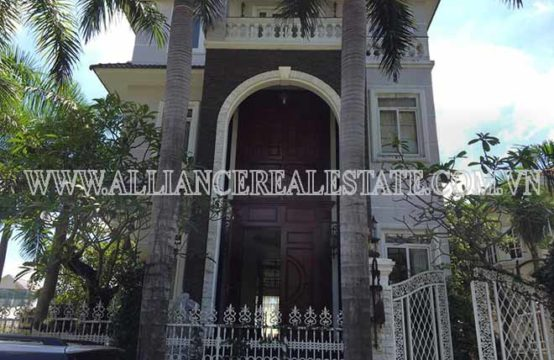 Villa for Rent in Compound in Thao Dien