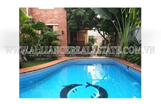 Villa For Rent in Thao Dien Ward District 2, HCMC, VN