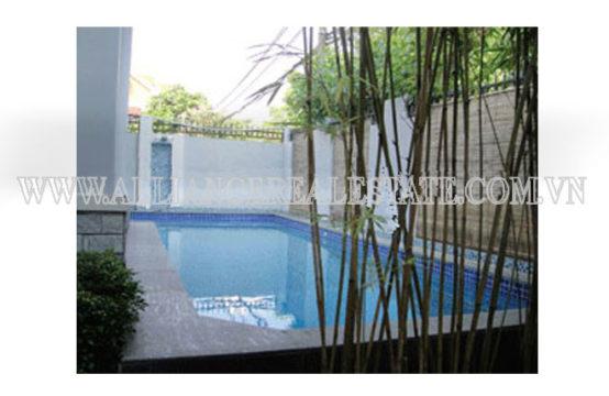 Villa in Compound For Rent in Thao Dien District 2, HCMC, VN