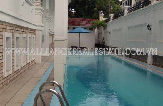 Serviced Apartment for rent in Thao Dien Ward, District 2, Ho Chi Minh City, Viet Nam.