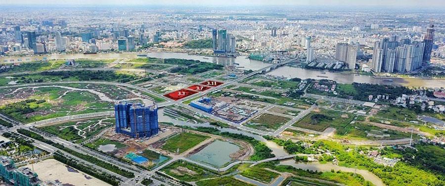 Location of Xi Thu Thiem project