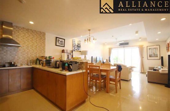 3 Bedroom Apartment (River Garden) for rent in Thao Dien Ward, District 2, Ho Chi Minh City.