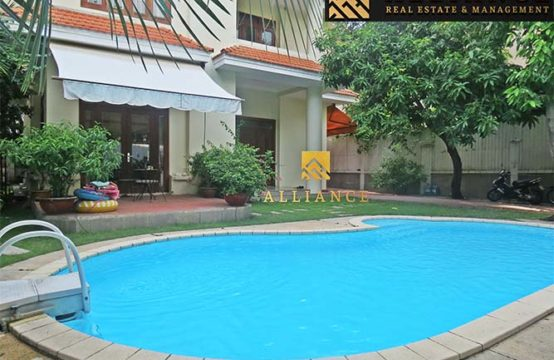 3 Bedroom Villa in Compound for rent in Thao Dien Ward, District 2, HCMC.