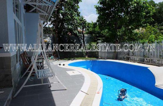 Villa for Rent In Compound in Thao Dien