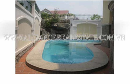 Villa in Compound For Rent in Thao Dien