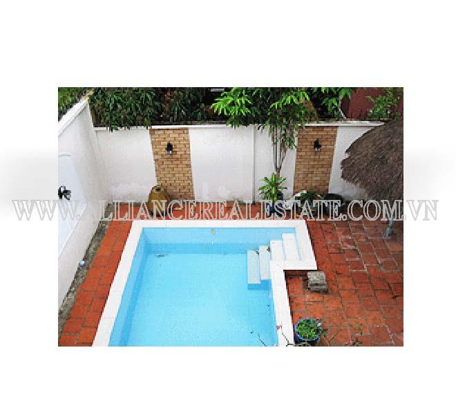 Villa in Compound For Rent in Thao Dien District 2, HCMC