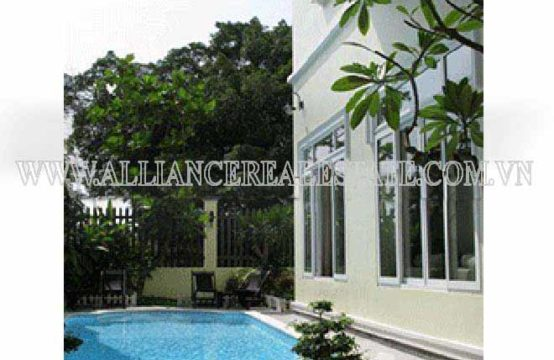 Villa For Rent in Compound in Thao Dien Ward, District 2, HCM, VN