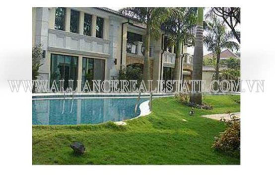Villa in Compound For Rent in Thao Dien District 2, HCMC, VN