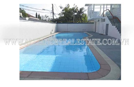 Villa for rent in compound in Thao Dien ward, District 2, Ho Chi Minh city, Viet Nam