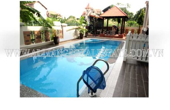 Villa in Compound For Rent in Thao Dien District 2, HCM, VietNam