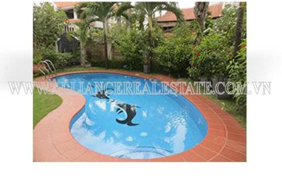 Villa For Rent in Compound in Thao Dien Ward District 2, HCMC, Vietnam