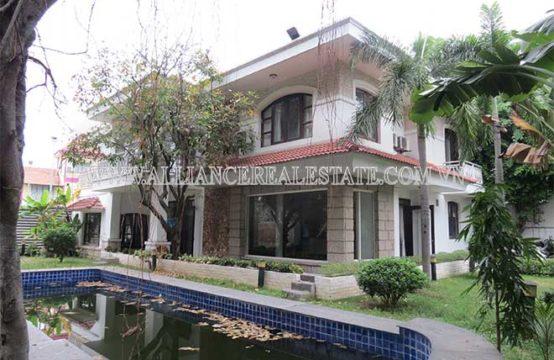 Villa for rent in Thao Dien Ward, District 2, HCMC, VN