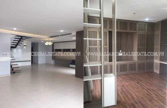 Masteri duplex apartment for rent in Thao Dien Ward, District 2, HCMC, VN