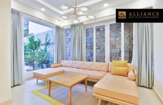 Beautifull villa for rent in Thao Dien, District 2, HCMC