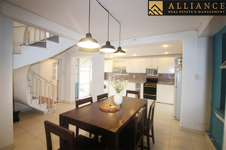 2 Bedroom House for rent in Thao Dien Ward, District 2, Ho Chi Minh City.
