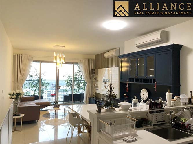 3 Bedroom Apartment (Estella Heights) for rent in An Phu Ward, District 2, Ho Chi Minh City.