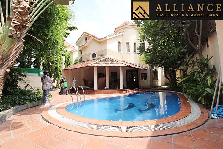 3 Bedroom Villa for rent in Thao Dien Ward, District 2, Ho Chi Minh City, Viet Nam