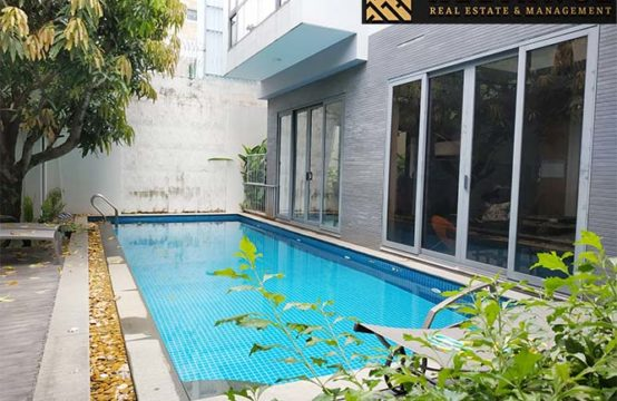Villa for rent in Thao Dien Ward, District 2, HCMC.