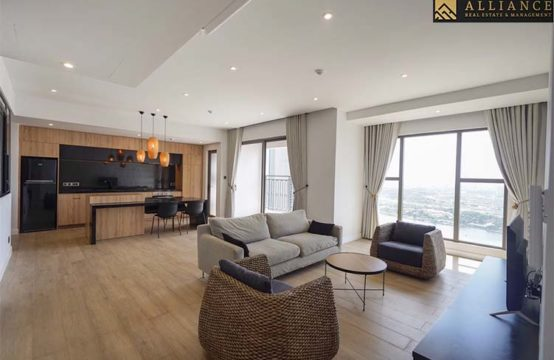 1 Bedroom Apartment (Sai Gon Royal) for rent in District 4, Ho Chi Minh City.
