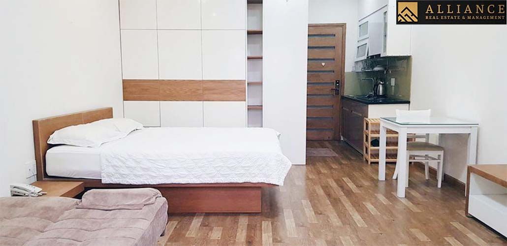 Serviced Apartment for rent in Thao Dien Ward, District 2, Ho Chi Minh city.