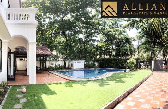 4 Bedroom Villa in Compound for rent in An Phu Ward, District 2, Ho Chi Minh city.