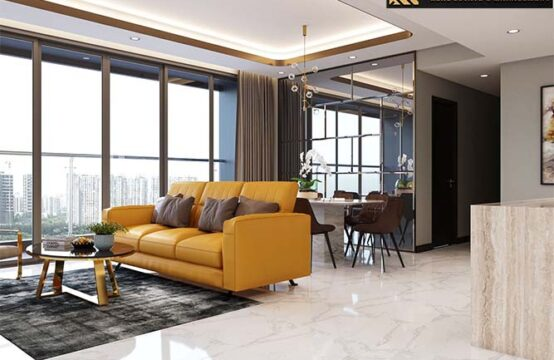 3 Bedroom Apartment (EMPIRE CITY) for rent in Thu Thiem Ward, District 2, HCM City