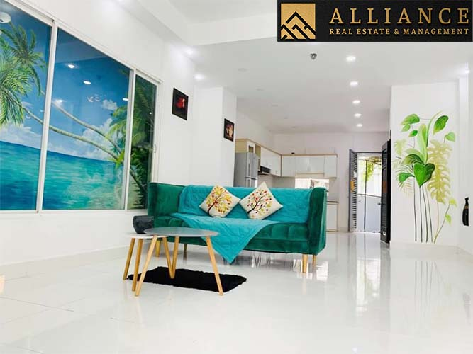 House for rent in Thao Dien Ward, District 2, Ho Chi Minh City.