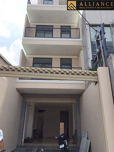 Villa for rent in Thu Duc City, Ho Chi Minh City.