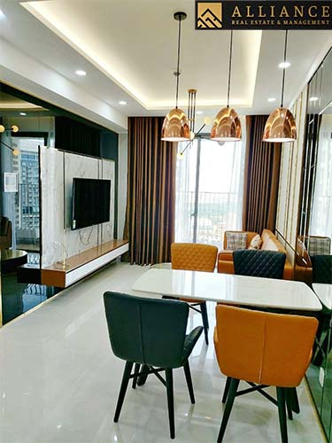 2 bedroom Apartment (Masteri An Phu) for rent in Thao Dien ward, District 2, HCM City.